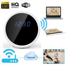 HD 1080P WiFi Cámara Reloj despertador Micro oculto espía Niñera de movimiento