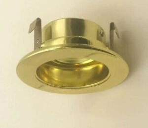 3-Inch Low Voltage 35-Degree Adjustable Trim With Reflector Gold Finish