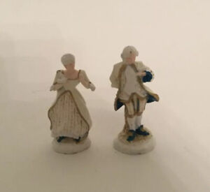 Pair Of Dolls House Ornaments (a)