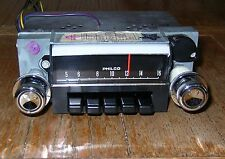 NOS WORKING 1968 68 Ford Mustang Shelby Cougar AM Car Radio 8TPZ Philco w/Knobs
