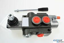Steuerventil Hydraulik Handhebelventil Steuergerät 1-Hebel  50 Liter 1-Sektion