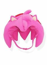 SONIC THE HEDGEHOG SOFT PLUSH AMY HAT LICENSED PRODUCT GE ANIMATION BRAND NEW