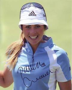 PAULA CREAMER Signed LPGA GOLF Photo w/ Hologram COA