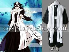 Bleach Kuchiki Byakuya 6th Division Cosplay Costume Captain Cloak