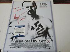 Edward Furlong Auto Signed 11x14 Photo American History X Beckett W/Inscription