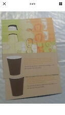 25 STARBUCKS Recovery Drink Card Voucher FREE Any Size Drink Gift NO Expiration!