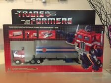 OPTIMUS PRIME Transformers G1 w/ box unapplied stickers. No reserve