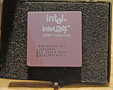 Intel i486 DX4 CPU - A80486DX4-100, 3 Volt