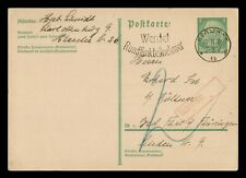 DR WHO 1932 GERMANY BERLIN POSTAL CARD STATIONERY C186680
