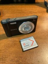 NICE SHAPE! Sony Cyber-Shot DSC-W800 Digital Camera (Black), Body &BATTERY