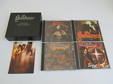 BULLDOZER Years of Wrath 1983-90 MEGA RARE LIMITED EDITION COLLECTORS BOX 4CDs!!