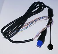 Garmin Power Data cable GPS 320C 120 120XL 125 Sounder 126 128 152 162 Bare Wire