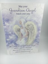 Greeting Card Comfort, 'guardian Angel Watch Over You'