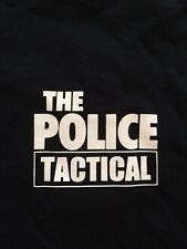 The Police Tactical ,Concert Local Crew T-shirt Xl New, Xl