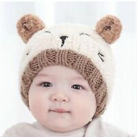 Toddler Kids Girl Boy Baby Infant Winter Warm Crochet Knit Hat Beanie Cap Hot
