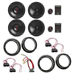 JBL Stage3 607C Stage3 627 Lautsprecher Einbauset für Passat 3B 3BG Beetle
