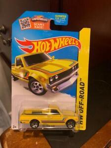 2015 Hot Wheels HW Off-Road Datsun 620 #125 Yellow VHTF