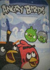 Angry Birds Blanket Multicolor Fleece Throw HTF Rovio Entertainment