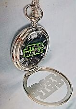 Stars Wars Pocket Watch Antique Vintage Womens Mens Old Film half hunter Disney