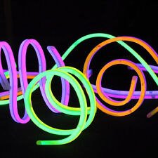 """75 22"""" Glow Sticks Necklaces TWISTERS Double Thick"""