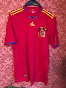RARE Spain 2010-2011 away national team jersey maglia size L