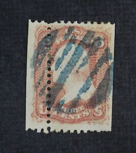 CKStamps: US Error EFO Freaky Stamps Collection Used Misperf