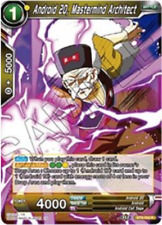Dragon Ball Android 20, Mastermind Architect Universal Onslaught Foil BT9-054 R