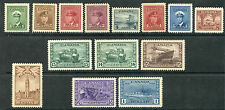 Weeda Canada 249-262 VF mint NH 1942-43 KGVI War issue complete set CV $300