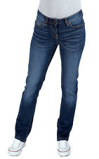 NEXT Denim Blue Mid Rise Slim Jeans, Sizes 6 - 22, Regular, Long & Tall Lengths