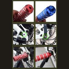 1 pair Bicycle Axle Pedal Alloy Foot Stunt Pegs Cylinder Mtb Bike Anti-Slip Axle