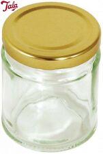 Tala Round Press Jar With Gold Lid 190Ml Kitchen Storage Solution Home New