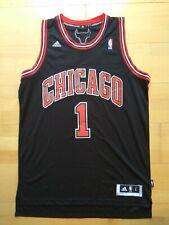NEUW Derrick Rose Chicago Bulls Adidas Swingman Trikot Jersey NBA Sz. L black