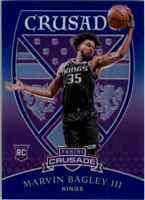2018-19 Panini Chronicles Marvin Bagley III Blue Crusade Rookie 52/99 Sacramento