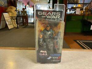 2008 NECA Gears of War DOMINIC SANTIAGO Series 1 Action Figure MOC