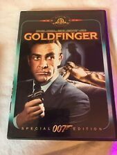Goldfinger DVD Sean Connery 1964