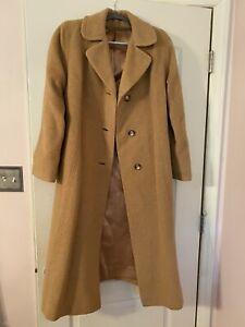 Authentic 100% Camel Hair Long Coat