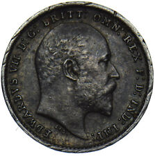 More details for 1903 maundy twopence - edward vii british silver coin