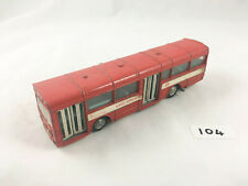 NICE DINKY TOYS # 283 AEC RED ARROW SINGLE DECK BUS COACH DIECAST RED 1974 VGC