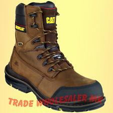 Caterpillar Doffer S3 Safety Boots - brown - Composite midsole-Tough & Durable