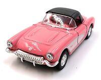 1957 Chevrolet Corvette Fucsia Modellino Auto Auto Scala 1:3 4 (Licenza)