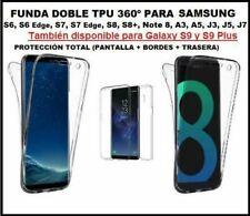 Funda DOBLE 360º SAMSUNG S20 S10 S9 s8 plus A8 NOTE 9 8 j3 j5 j7 a s6 edge s7