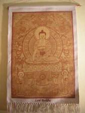 Medicina Buda tapicería del tíbet-nepal (Medicine Buda wall hanging)
