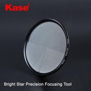 Kase 77/82mm Bright Star Precision Assist Focus Tool Optical Glass Lens Filter