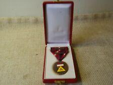 Strahlenschutz Medaille in Bronze der Rep. Österreich