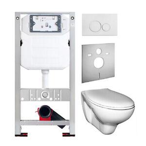 WC  Element  Set  SANwand mit Spülkasten Wand WC  Vorwandelement  Setangebot