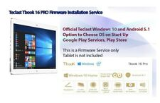 Firmware Flash for Teclast Tbook 16 Pro Z8300 11.6 inch Tablet PC