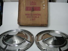 1961 62 Ford Falcon Ranchero Hubcap Wheelcover NOS in BOX! 1 Pair