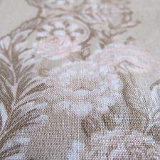 Jinny Beyer tonal cream tan Chic roses rows Shabby RJR cotton fabric BTHY