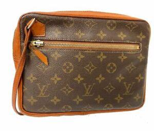 Louis Vuitton Monogram Pochette Sport Clutch Hand Bag Y-1560
