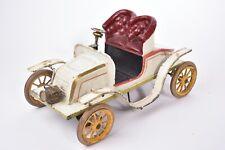 """Rare Jouet anciens. Auto """"Tonneau"""" Bing. Allemagne. Circa 1908"""